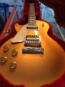 Gibson - Les Paul Classic 2017 T w/Case Goldtop *Gaucher/Lefty*