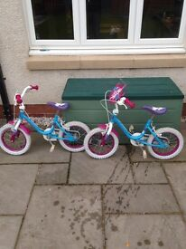 Kids bikes age 4-5 approx
