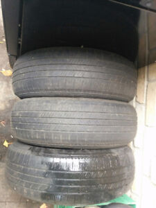 3 used tires, asking $40 obo p195-65r15