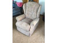 Nice single seats and foot stool