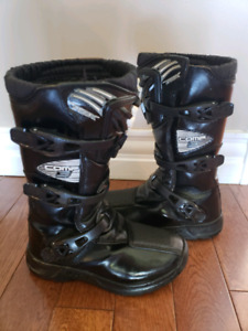 Youth Fox Comp 3 Size 4 MX Motocross Boots