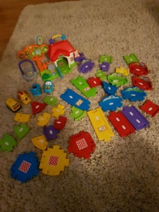 Vtech tracks and toys