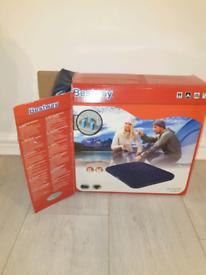 Bestway Comfort Quest Inflatable Double Bed plus electric pump