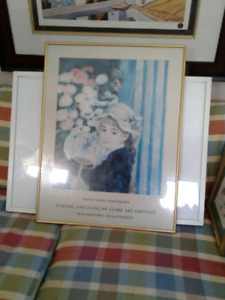 Framed & matted prints, paintings
