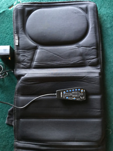 HoMedics Body Masseur, 10-Motor Full-Body Massage Mat with Heat