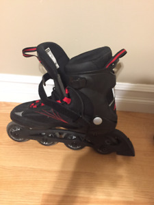 Perfect condition size US10 FIT 80 rollerblades