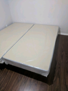 Boxspring and frame