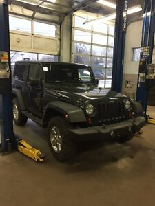 Jeep Wrangler Sport 2010 low KM 67k
