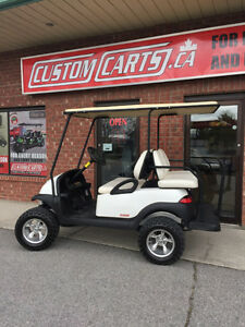 2009 CLUB CAR Villager Gas Golf Cart - Factory 4 passenger