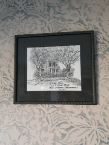 Anne Rice House Lithograph by Patricia Hardin