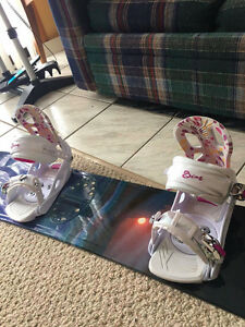 Women's Snowboard Set 148cm (board + bindings)