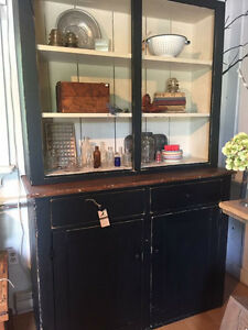 Primitive Antique Hutch