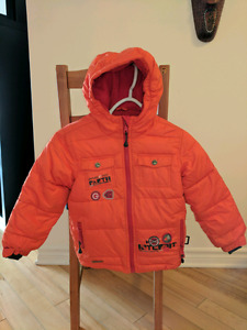 Souris Minis jacket & Columbia snowsuit