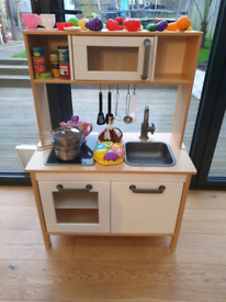 Kids Toy wooden Kitchen with lots of extras