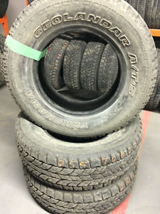 """17"""" and 15"""" tires - Set of 3 tires"""