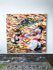 6*6' Boxing Painting