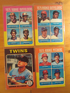 Baseball cards. 42 years old ! 1975 opc. Lot of 99.