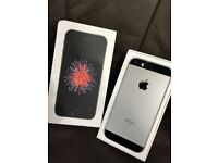 Iphone se 64gb Matte black with 3 month Apple warranty