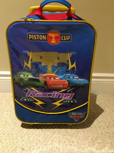 Cars Children Rolling Luggage
