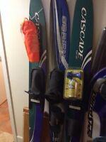 Ensemble d'équipement de ski pour bateau