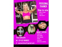 Personal training one to one