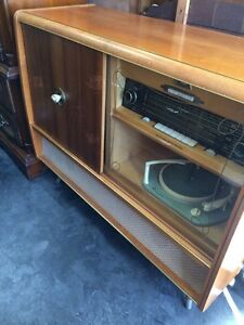 Telefunken Record player Radio Körting