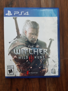 Witcher 3 wild hunt PS4