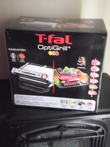 T-fal Optigrill - Brand New/Never Used - Grill Indoors!