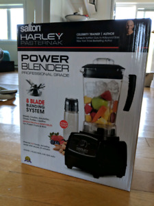 Salton Harley Pasternack Power Blender NEW