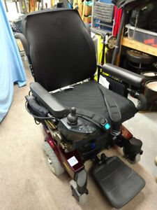 Power Wheelchair with New Battery