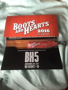 Boots and Hearts 4 Day Wristband
