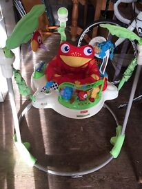 Fisher price jungle bouncer like new