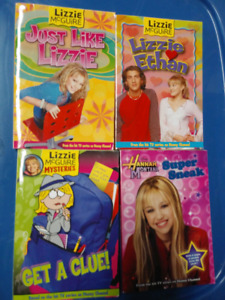 Lizzie McGuire and Hannah Montana Books