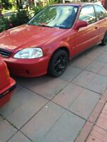 Honda Civic 2000 special edition hatchback