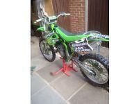 kx 250cc 1997 modle