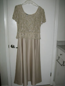 Evening Gown -  champagne $50 firm