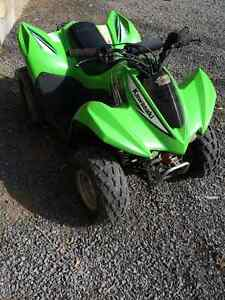 2010 Kawasaki KFX 90 kids four wheeler