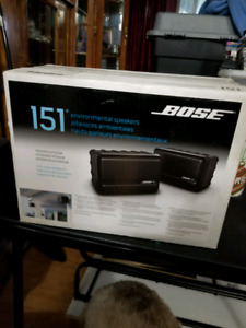 Bose 151 Speakers - BNIB