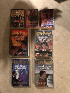Livre Harry Potter 1 à 7