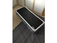 Large Gorilla flight case, will fit 2 cdjs & 1 mixer