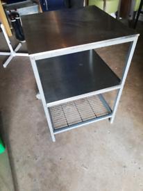 Ikea stainless steel trolley