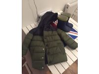 NEXT boys coat and wellies