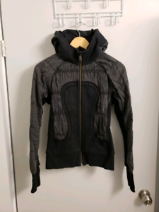 Lululemon Scuba Hoodie Zip Up Black Limited Edition