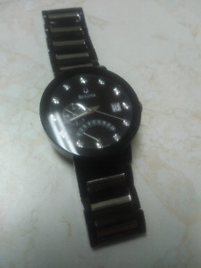 Men,s bulova diamond collection watch