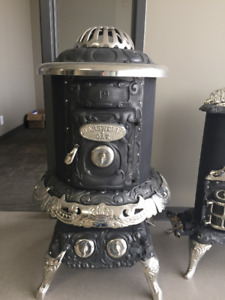 Antique stove or heater