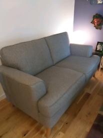 Marks and Spencer herringbone sofa (large) 2 seater