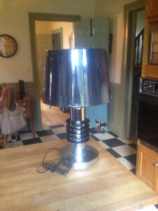 "VINTAGE RETRO SPACE AGE ""SATURN'' TYPE TABLE LAMP"