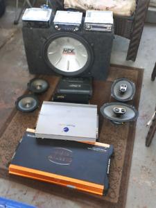 Lot of older speaker stuff