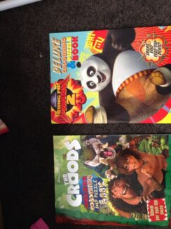 The Croods or Kung Foo Panda colouring in books Ringwood East Maroondah Area Preview