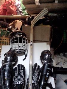 équipement de deck hockey